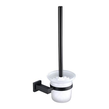 Vellamo Twist Matt Black Toilet Brush